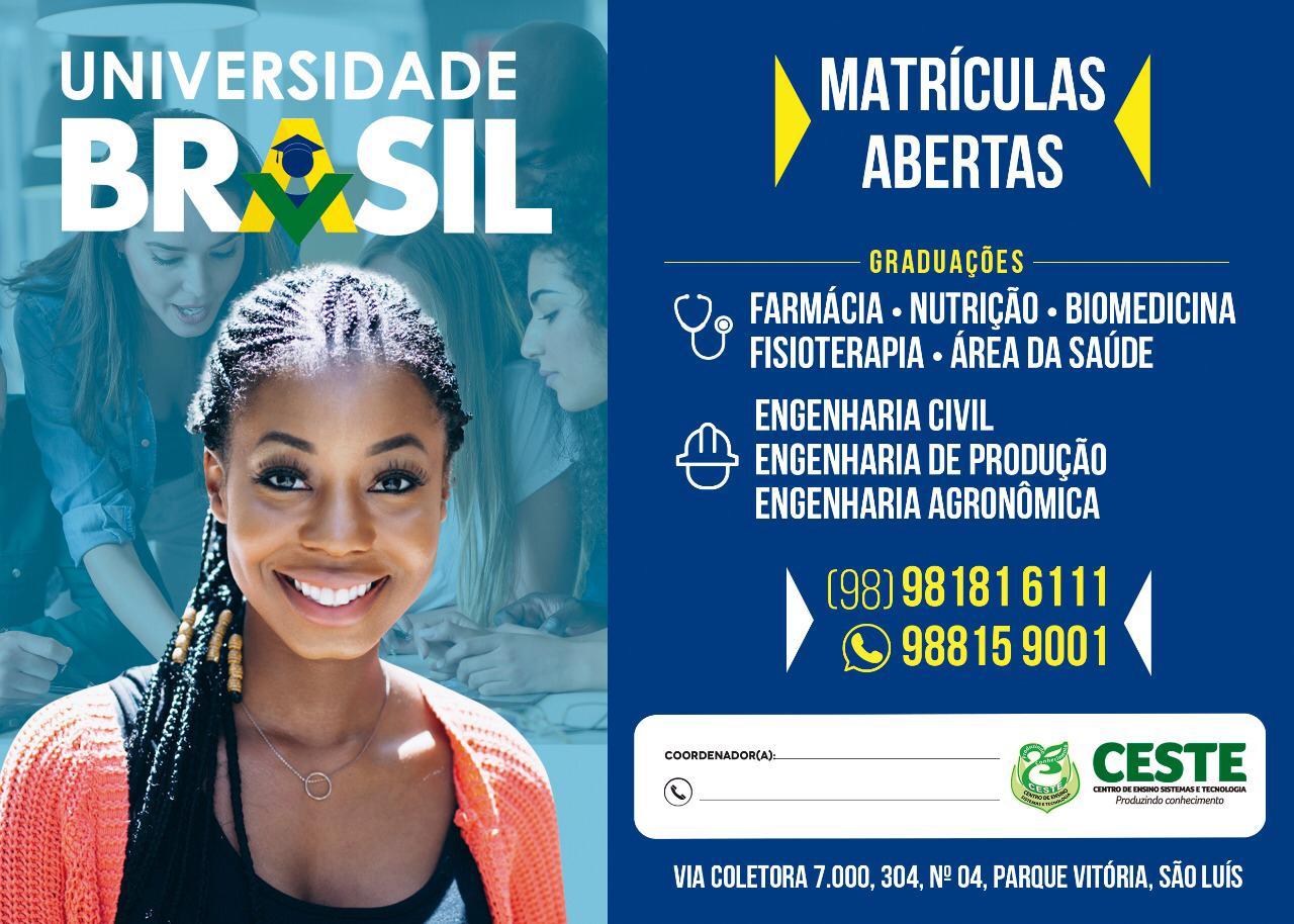 FACULDADE BRASIL / CESTE uniram-se para oferecer os melhores cursos de graduação (bacharelados/lice