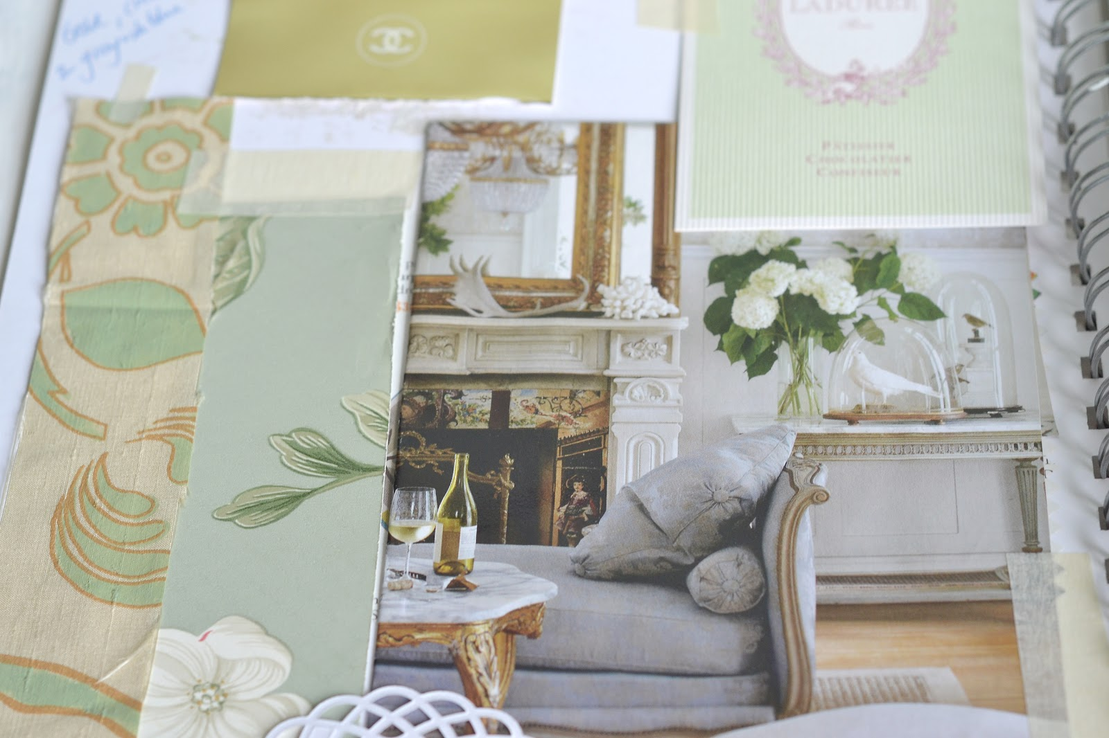 Curiositaellya september home interior collage journal for Interior journal