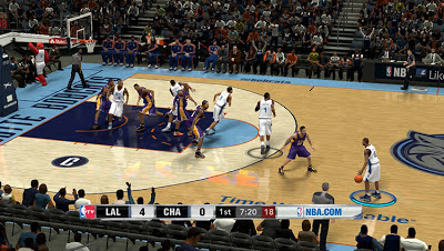 NBA 2K13 Charlotte Bobcats Court Patch