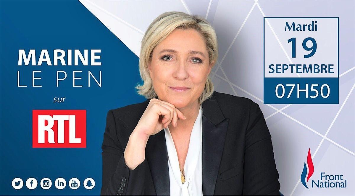 19 de setembro, 7h50: RTL France