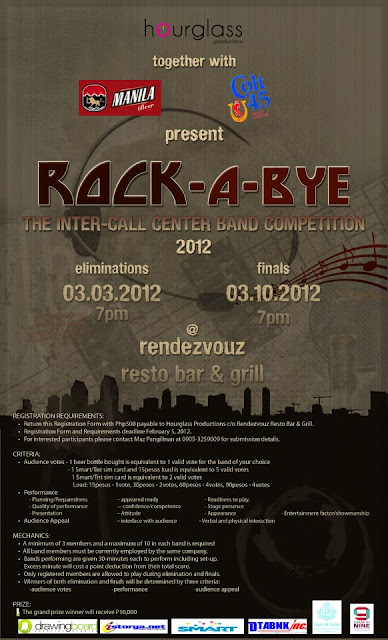 Rock-A-Bye: Inter-Call Center Band Competition 2012