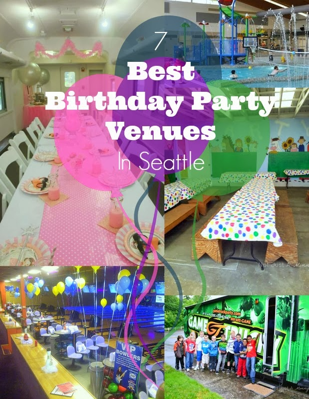 best birthday party venues in Seattle