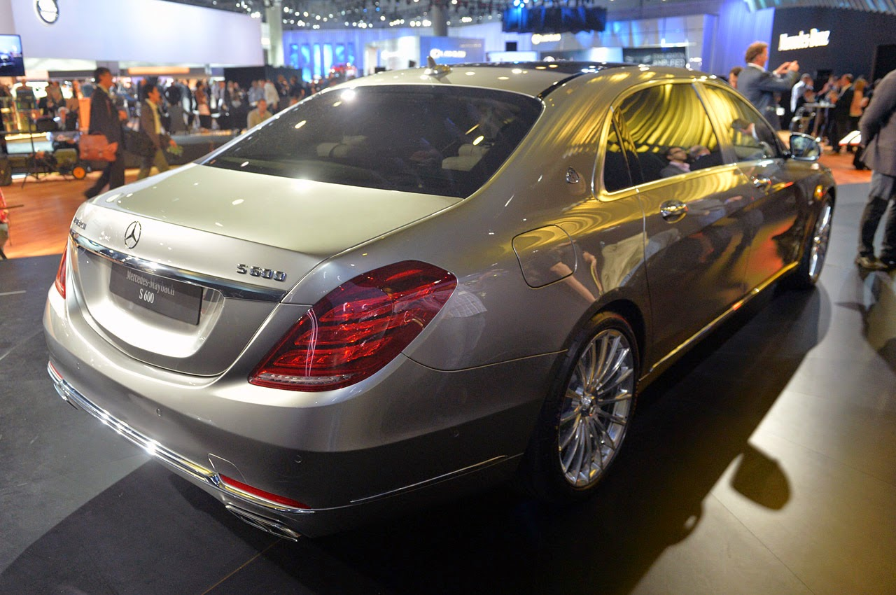 Automotiveblogz Mercedes Maybach S600 La 2014 Photos
