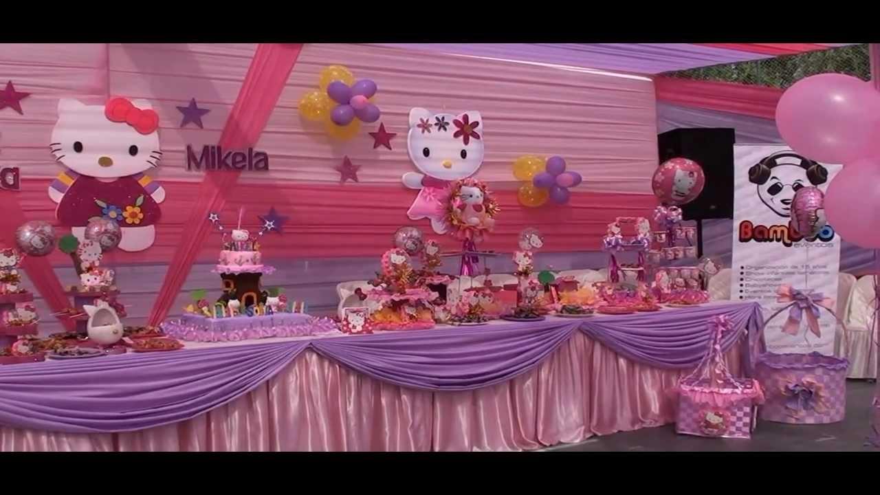 Decoracion Hello Kitty Fiestas Infantiles ~ MuyAmeno com Fiestas Infantiles Hello Kitty, parte 3