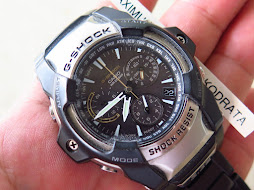CASIO G-SHOCK GIEZ GS-1100D - RADIO SIGNAL RECEIVER