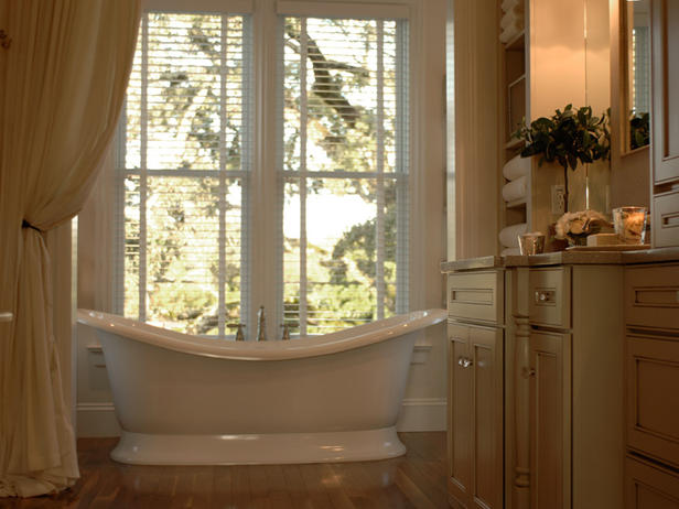 Made in heaven master bathroom for Master bath windows