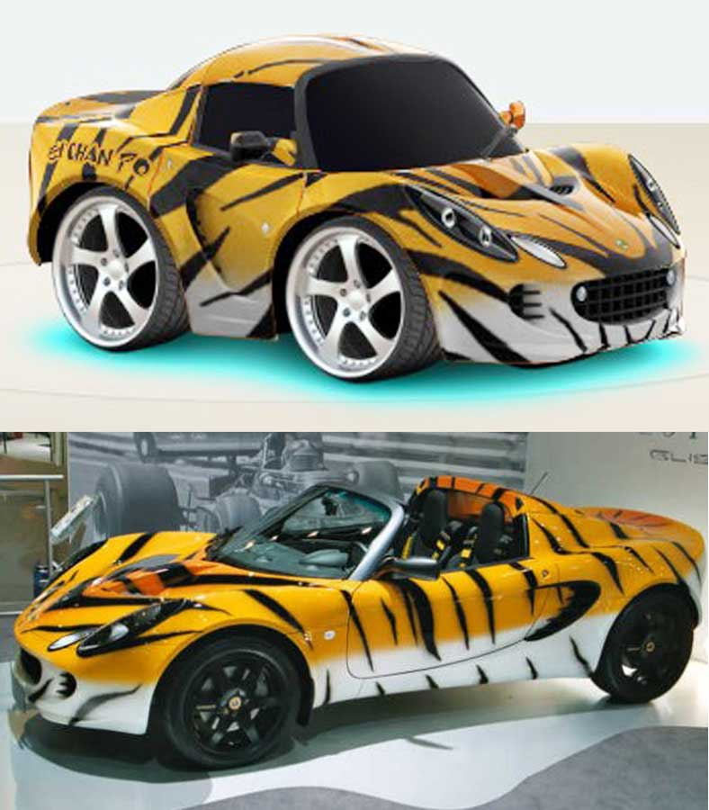 Bmw Zm Coupe: Download Car Town Templates: 09 Lotus Elise