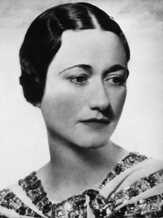 Edward with Wallis Simpson