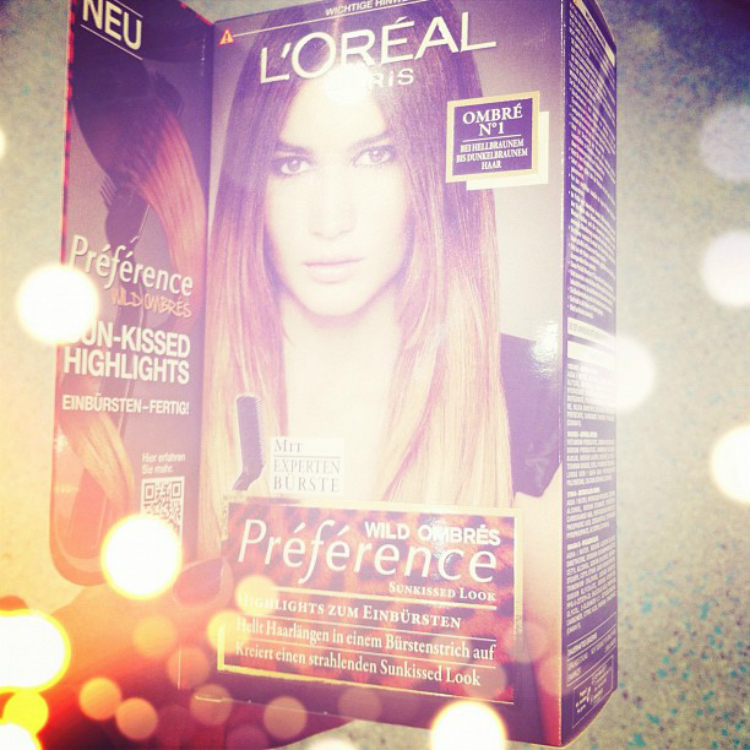 loreal ombre makeover hair