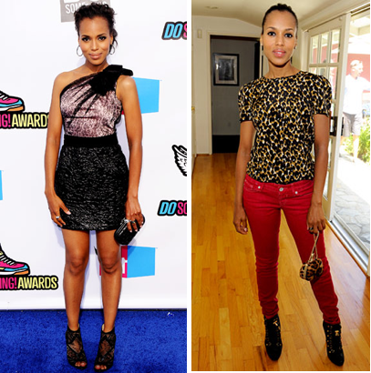 Kerry Washington A Darling Of Many Fashion Designers Because She