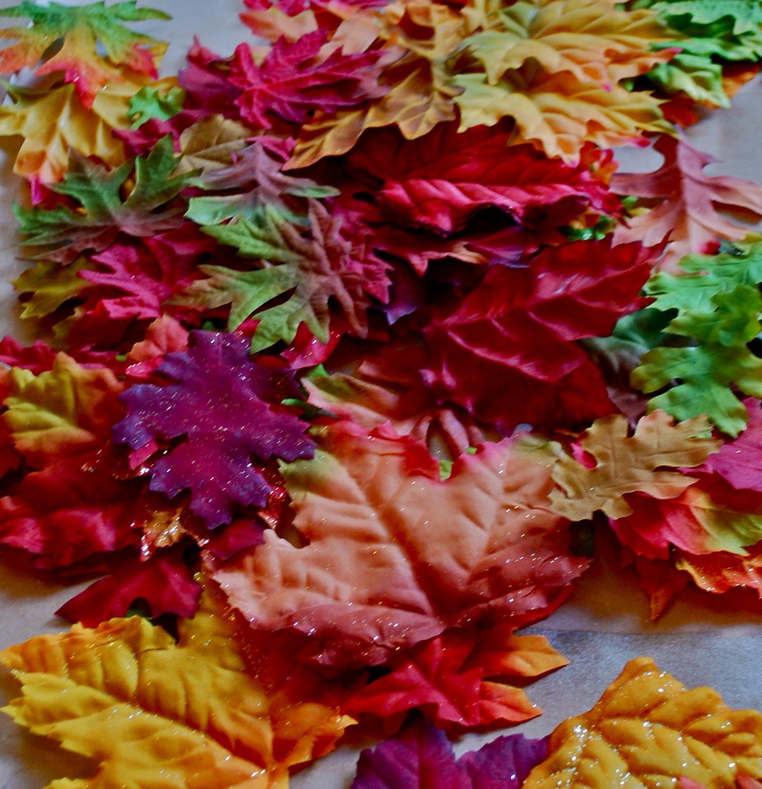 Fall Leaves Wreaths - Amanda Jane Brown