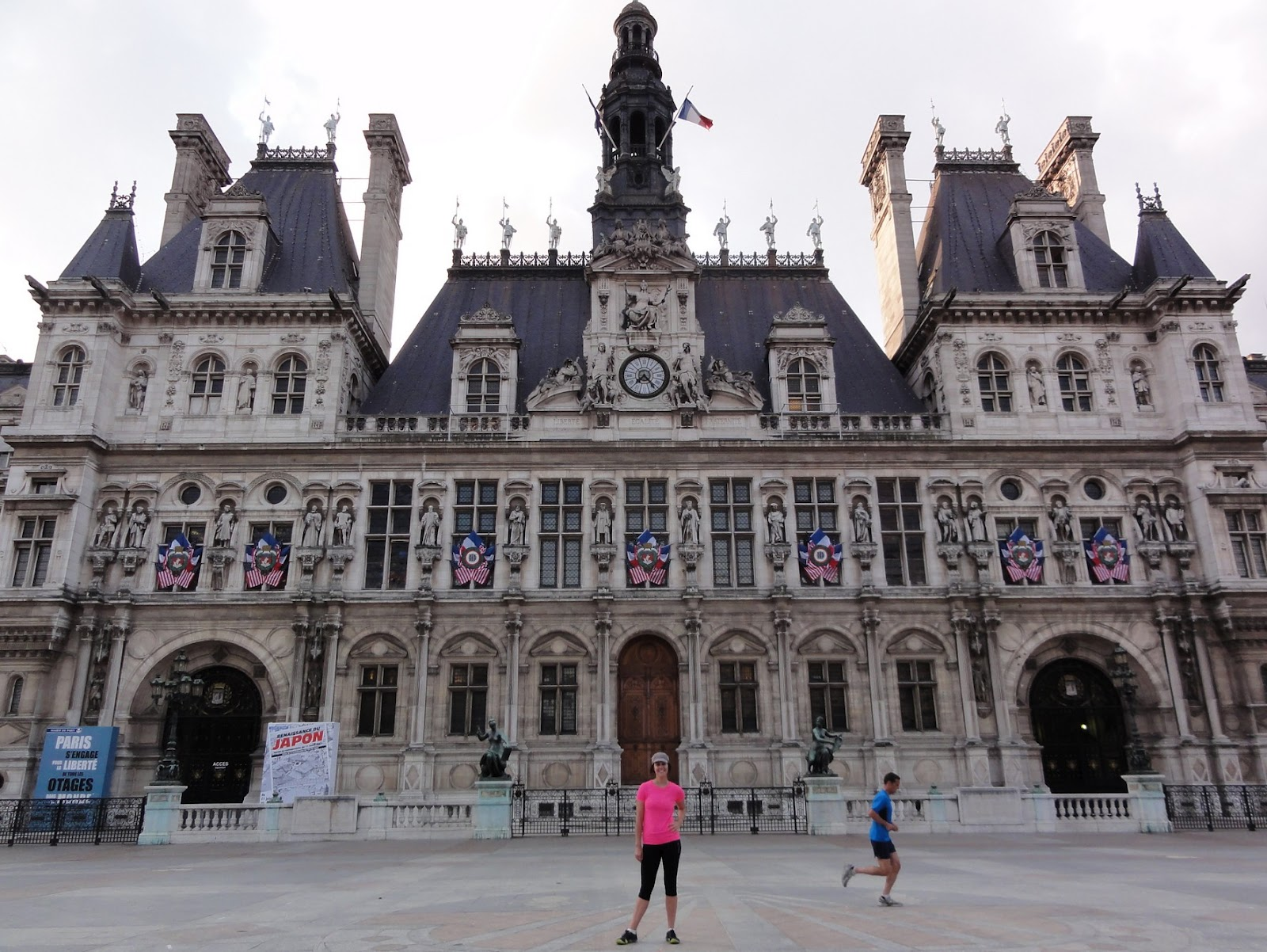 Paris running tour sightjogging in paris for Hotel deville paris