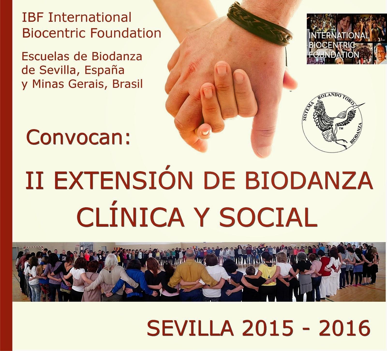 EXTENSIÓN BIODANZA CLINICA Y SOCIAL