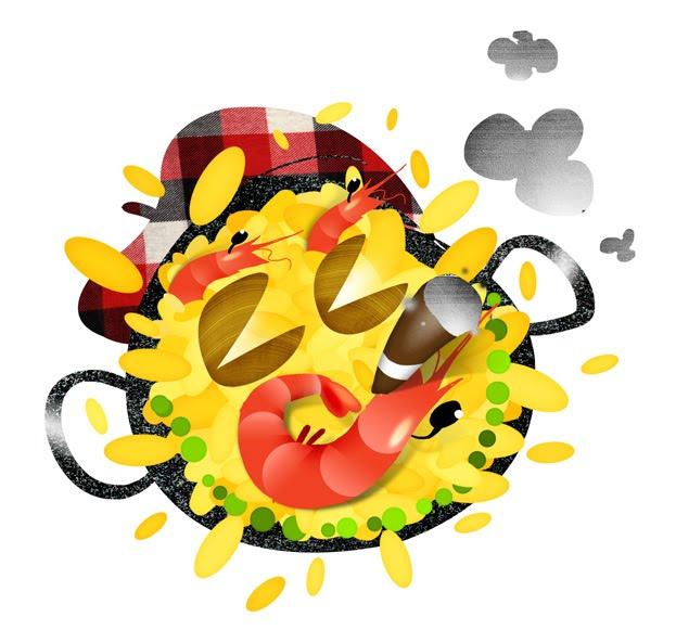 Dessin Paella dessin de paella
