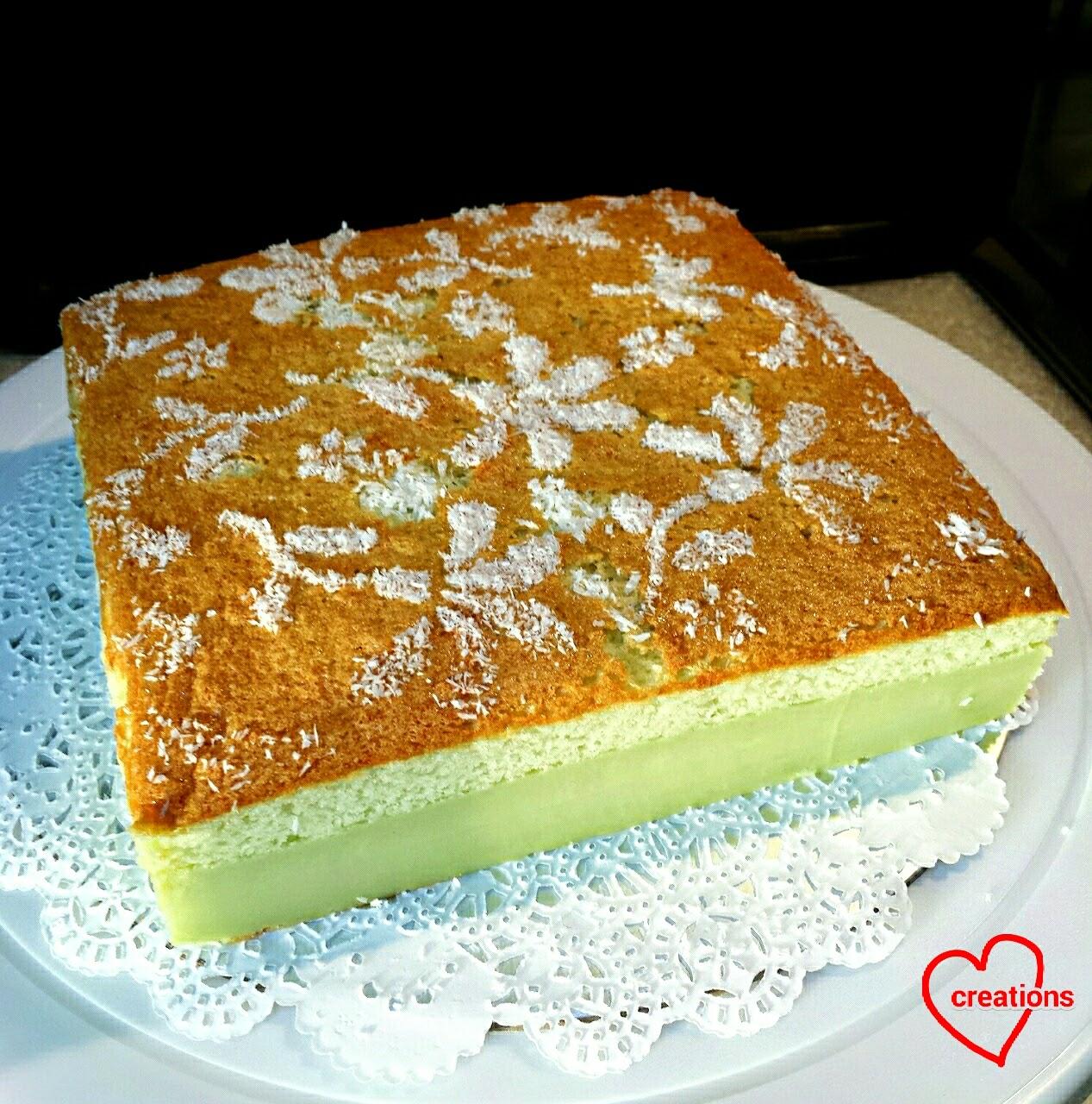 Magic Pandan Cake