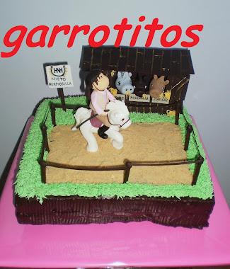 tarta de hípica