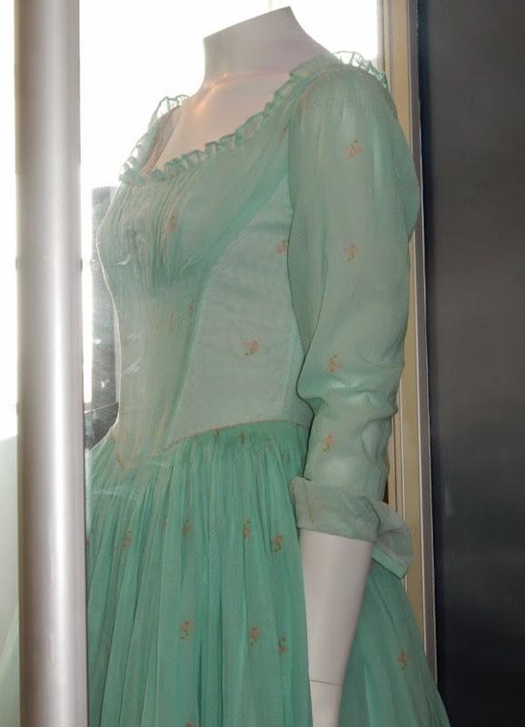Cinderella film dress detail