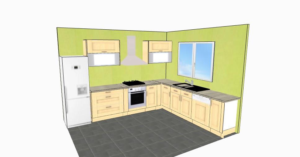 Notre construction 76 projet de la cuisine for Projet de cuisine