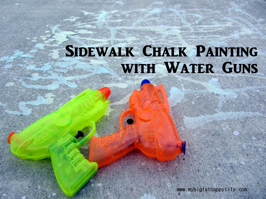 http://www.mybigfathappylife.com/sidewalk-chalk-painting-with-water-guns/