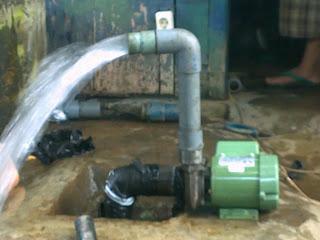 pompa air modifikasi asli jombang terpal kolam