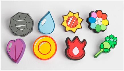 Medallas pokemon de Kanto La Guarida Geek - Bedroom Furniture Dallas