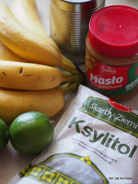 lody vegańskie , masło orzechowe , banany , mleczko kokosowe , lody domowej roboty , desery na lato , desery mrożone