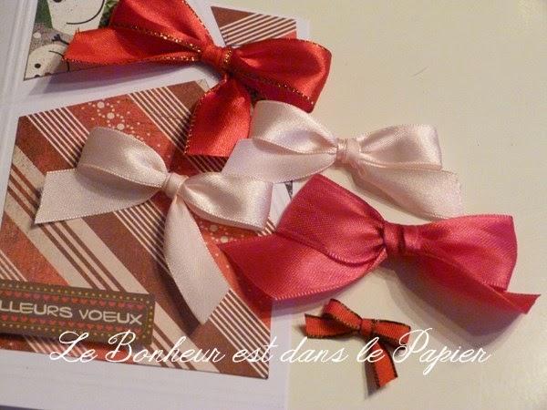 Le bonheur est dans le papier faire de beaux noeuds en rubans - Comment faire un noeud papillon avec un ruban ...