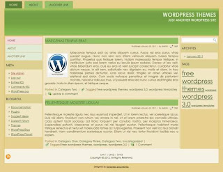 Online magazine wordpress template