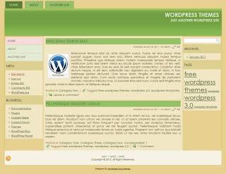 Online magazine wordpress template