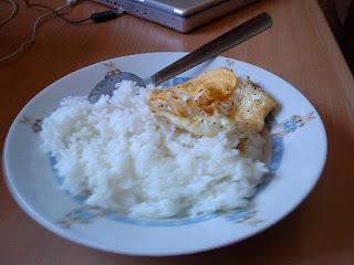 Nasi Dengan Telor