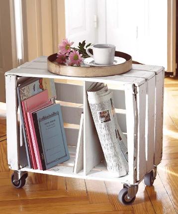 Ideas para compartir de mama ideas con cajas de madera - Mesas con cajas de madera ...