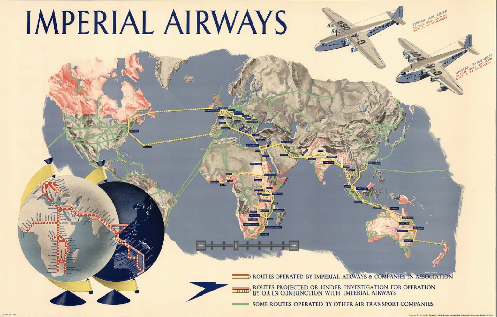 The Timetablist - Us airways travel map