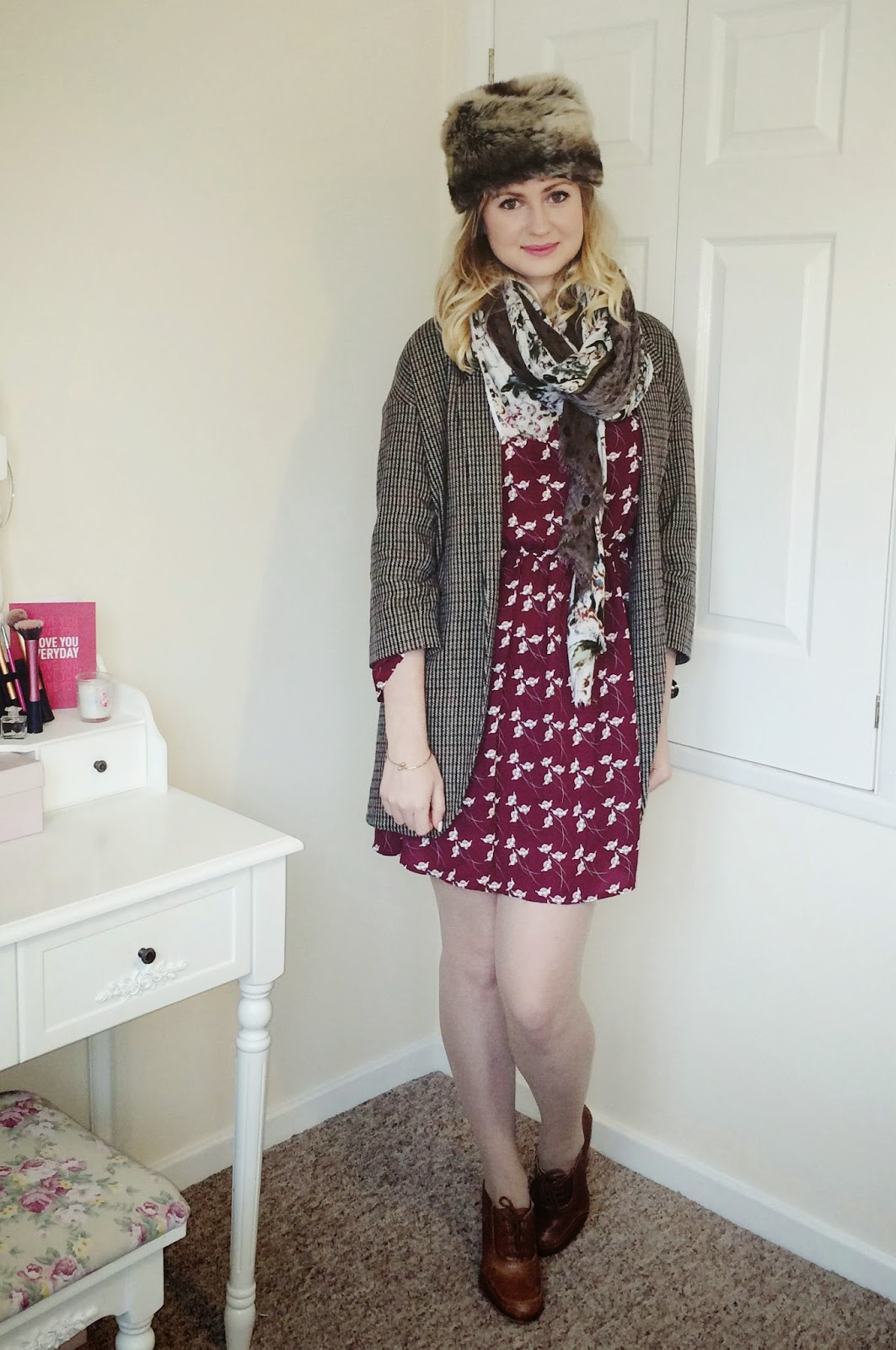 FashionFake, fashion bloggers, UK fashion blog, Sugarhill Boutique dress