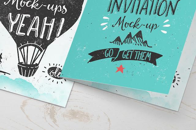 Free invitation greeting card psd template freebies psd free invitation greeting card psd template stopboris Images