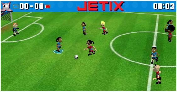 Ball Game : Jetix Soccer