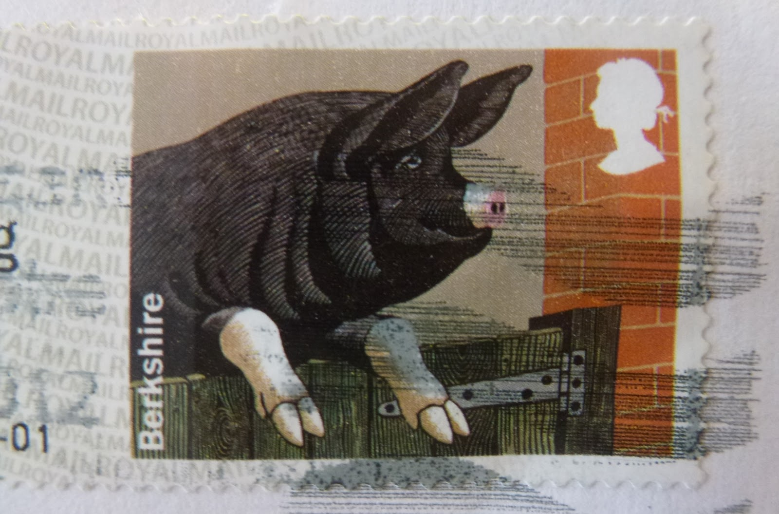 Berkshire Pigs Royal Mail