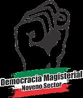 LOGO OFICIAL DEL COLECTIVO DEMOCRACIA MAGISTERIAL