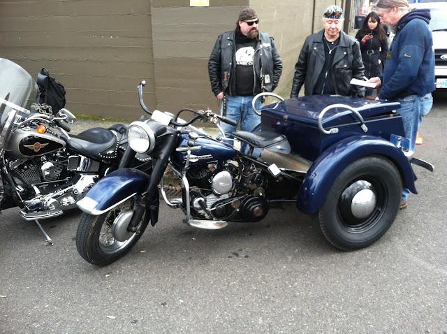 Harley Davidson Servicar.