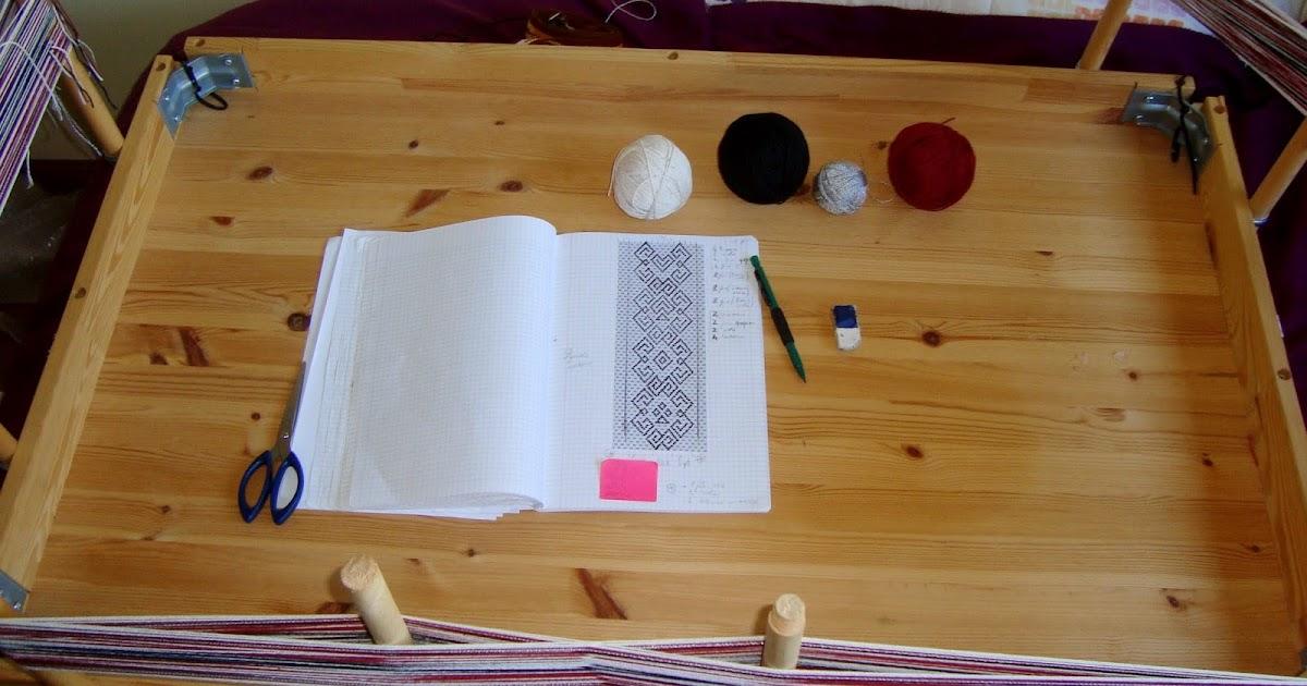 Giosennifer poker tracolla per chitarra tessuta a mano - Telaio da tavolo per tessitura a mano ...