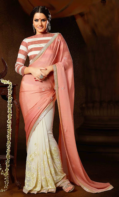 Wear a Sari According to the Party, Occasion or Event