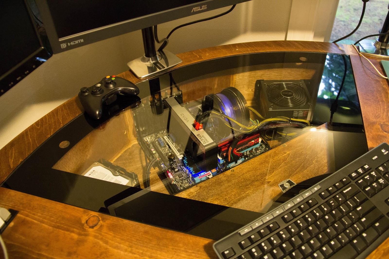 Loren\u0027s Projects: The Computer Desk