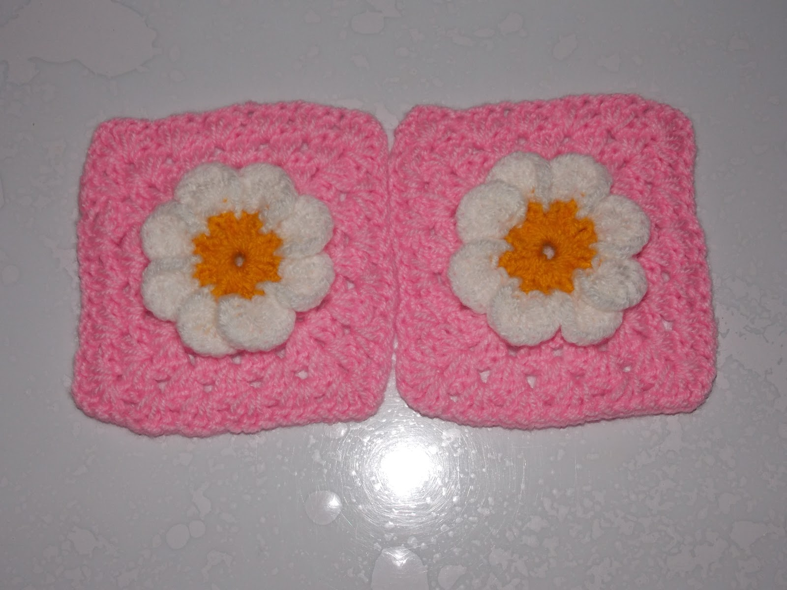 patroon granny square haken