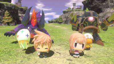 World of Final Fantasy para PS4 y PSVita 1