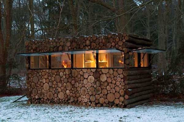 It Might Look Like A Normal Stack Of Firewood. But When ...