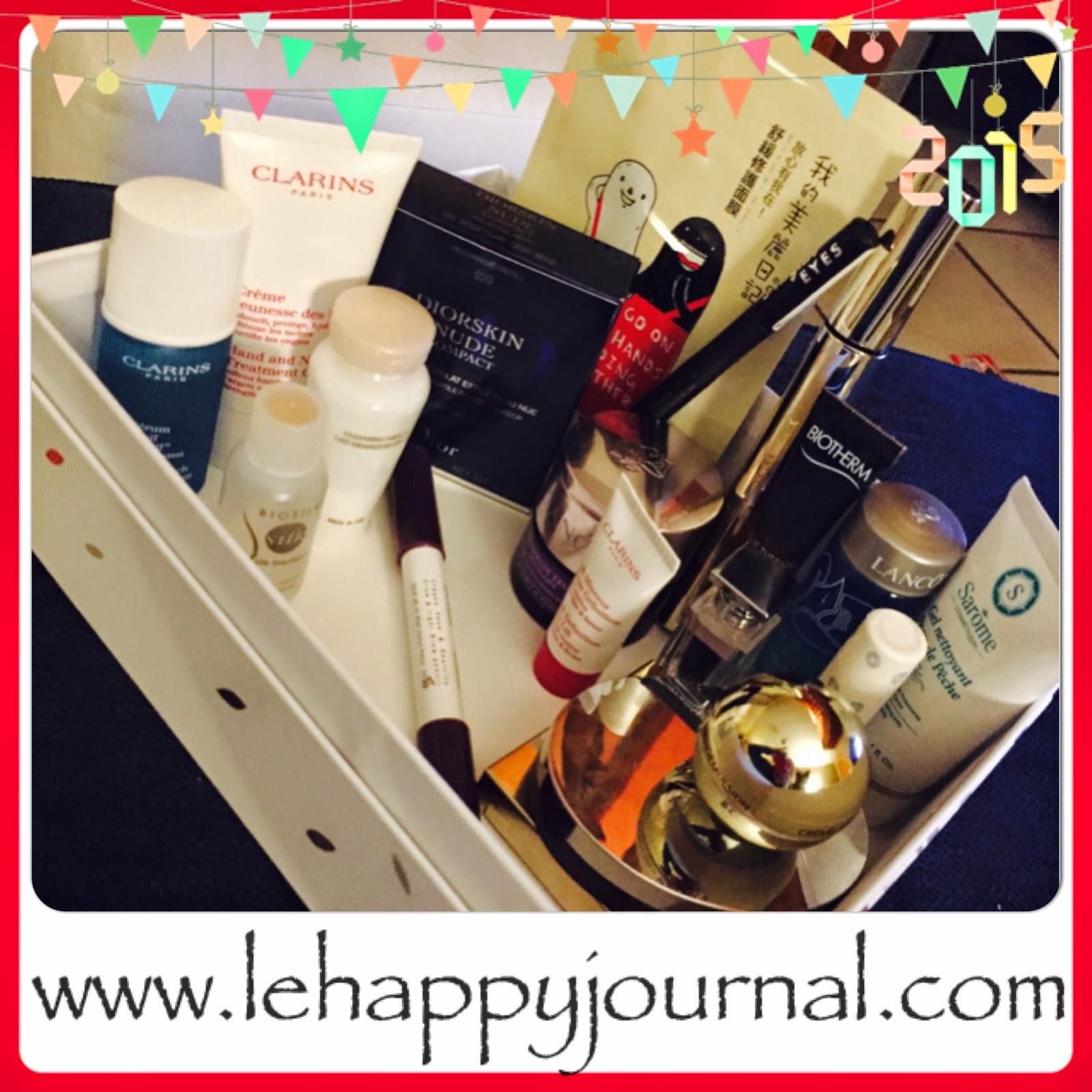 rotation, beauté, produits, semaine 2, revue, blogueuse beauté, opinion, avis, test, happy journal