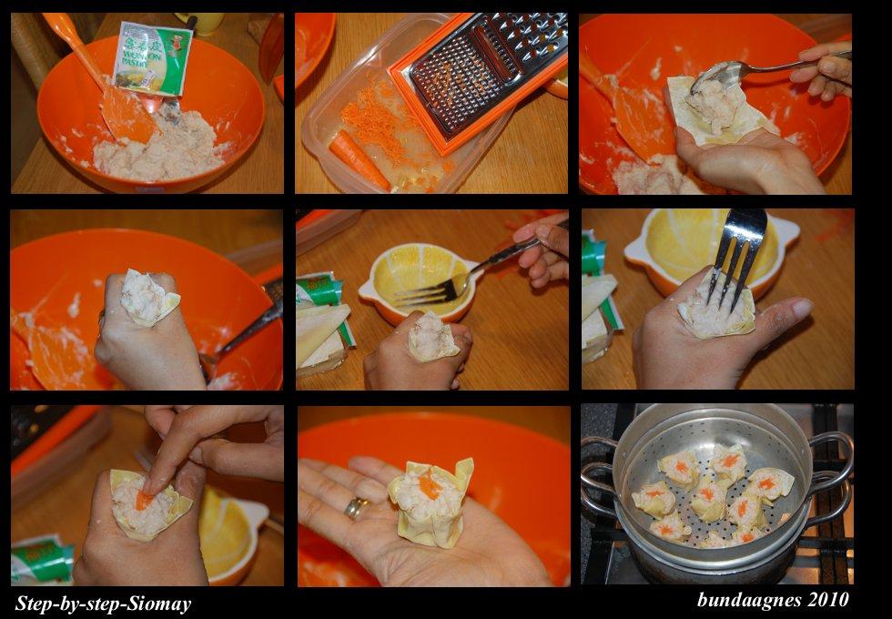 cara membuat siomay udang