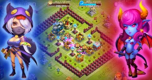 Apa Itu Konflik Kastil? Adalah Game Castle Clash - IGG