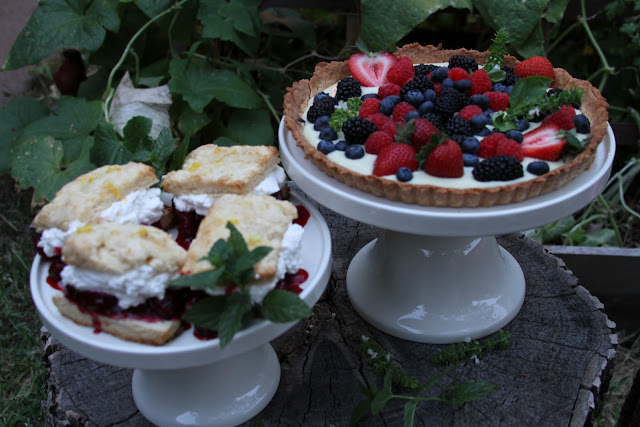 CAKEWALK BAKE SHOP: A Celebration of Summer Berries