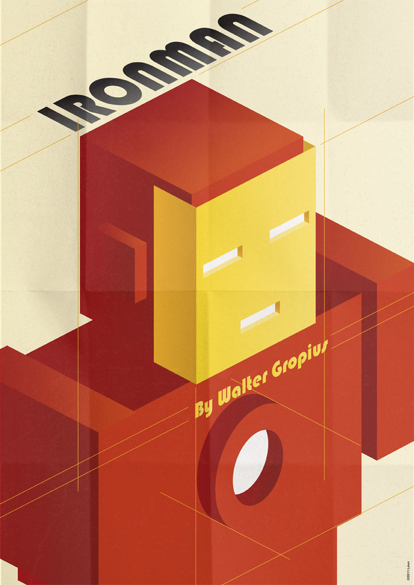 Ironman Art Deco