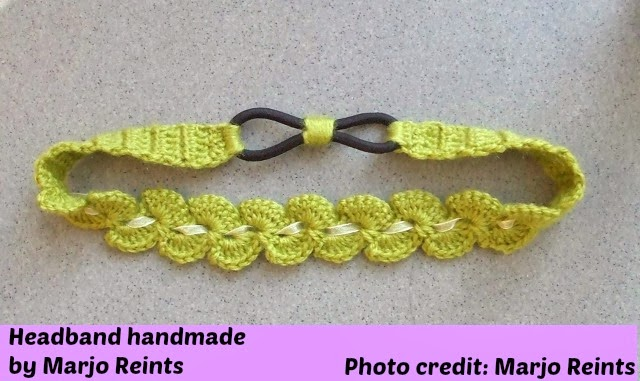 My Hobby Is Crochet Thread Headband Free Crochet Pattern With